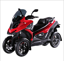 Scooter Quadro 4D